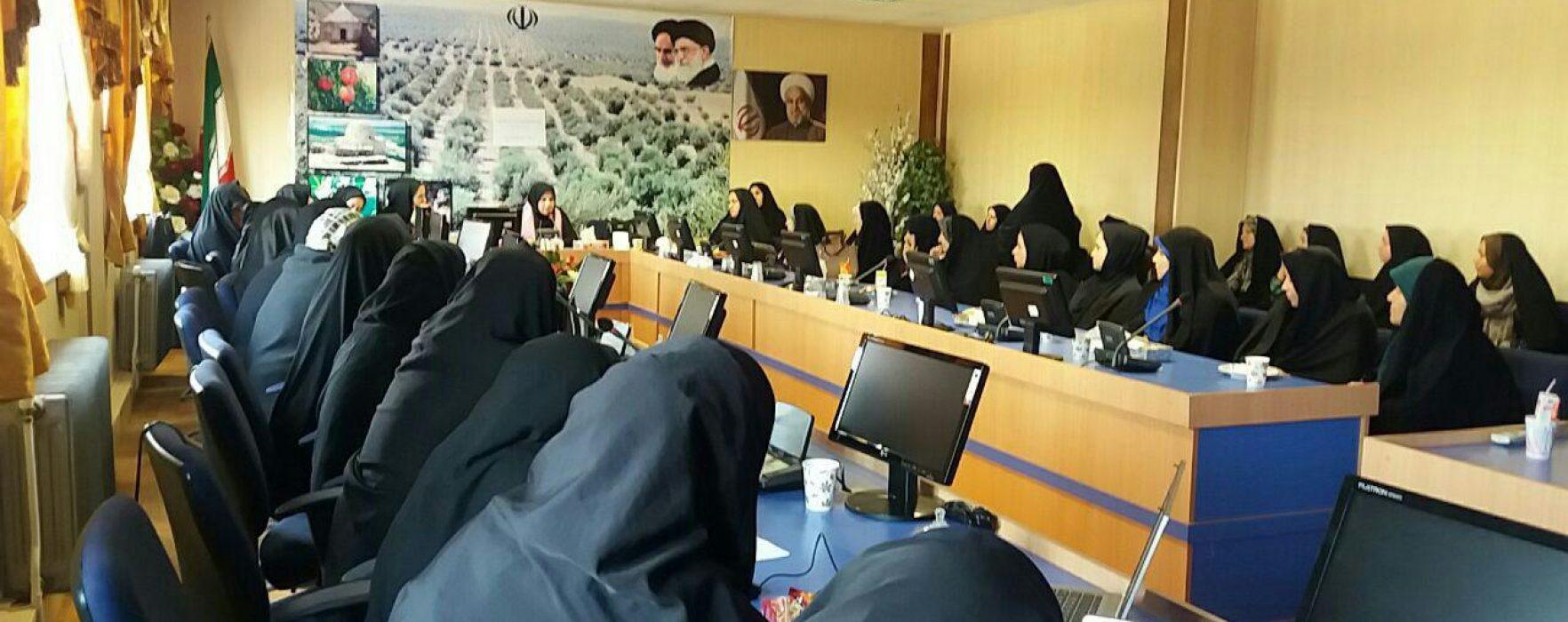 تشکیل کارگاه آموزشی پیشگیری از سرطان سینه مهرانه در زنجان