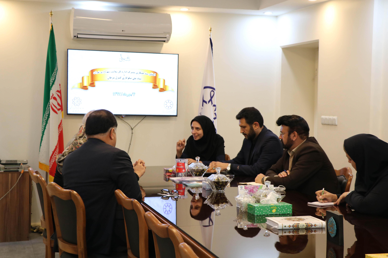 امضای سند همکاری مشترک اداره کل سلامت شهرداری تهران با   بنیاد ملی نیکوکاری کنترل سرطان مورخ ۴/۷/۱۳۹۷
