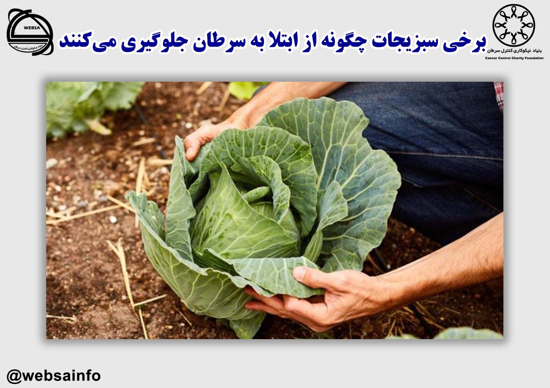برخی سبزیجات چگونه از ابتلا به سرطان جلوگیری میکنند