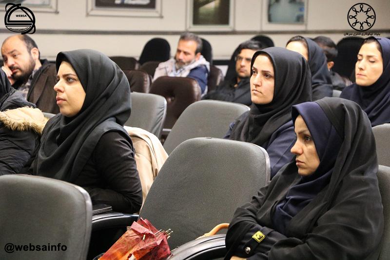 برگزاری گارگاه آموزشی کنترل سرطان در محل سالن اجتماعات شرکت راه آهن شهری تهران و حومه 98/09/17