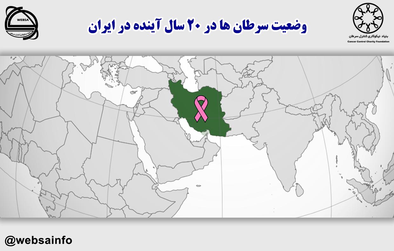 وضعیت سرطان ها در ۲۰ سال آینده در ایران