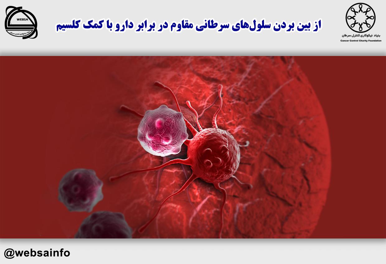 از بین بردن سلولهای سرطانی مقاوم در برابر دارو با کمک کلسیم