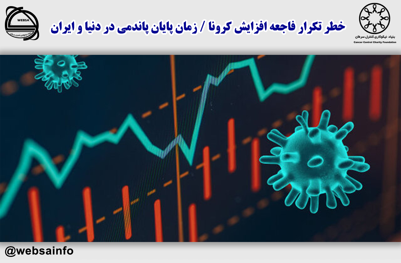 خطر تکرار فاجعه افزایش کرونا / زمان پایان پاندمی در دنیا و ایران